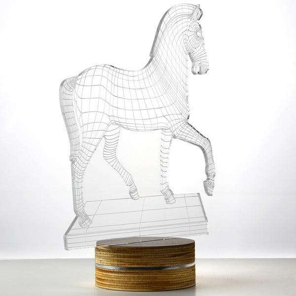 3D stolní lampa Big Horse