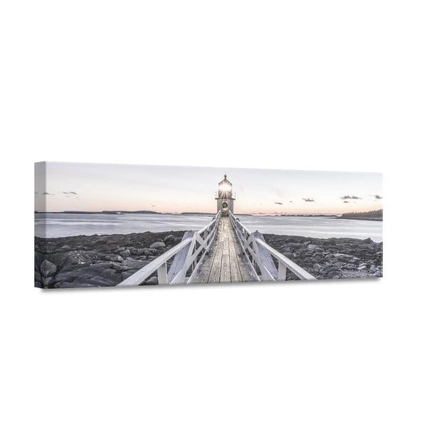Canvas By The Sea Beacon View II fali kép, 45 x 140 cm - Styler
