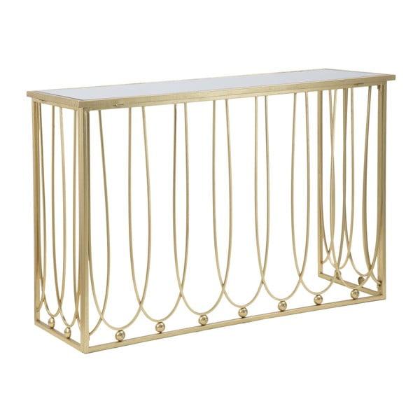 Konzolový stolík so železnou konštrukciou Mauro Ferretti Alesandra, 120 x 43 cm