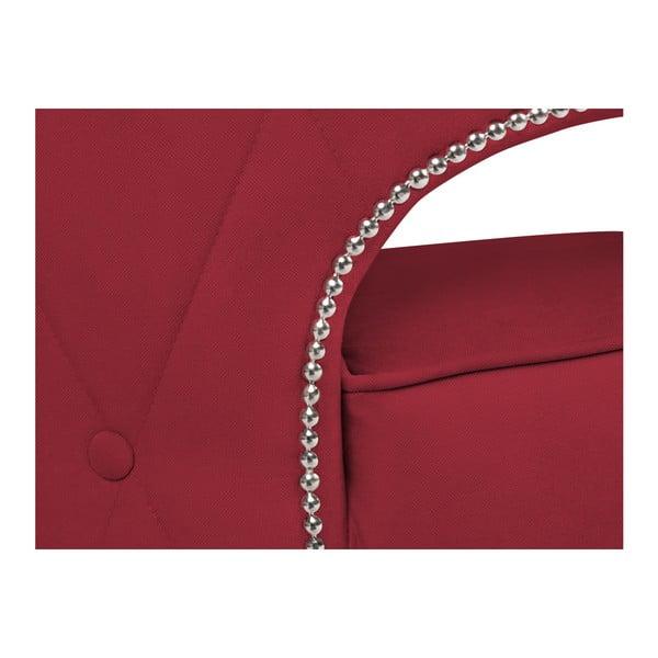 Červené křeslo BSL Concept Canvas