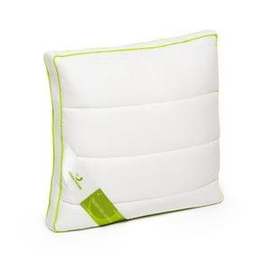Bílý polštář s bambusovými vlákny Green Future Nature, 37 x 37 cm