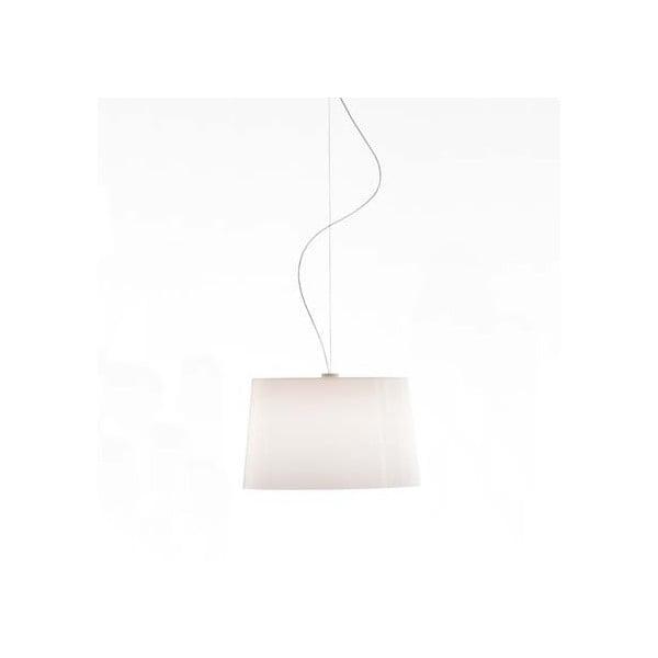 Závěsné svítidlo Pedrali L001S/B, plné bílé