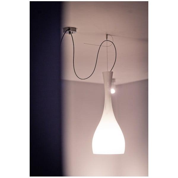 Světlo ITTEKI, silver opal/violet