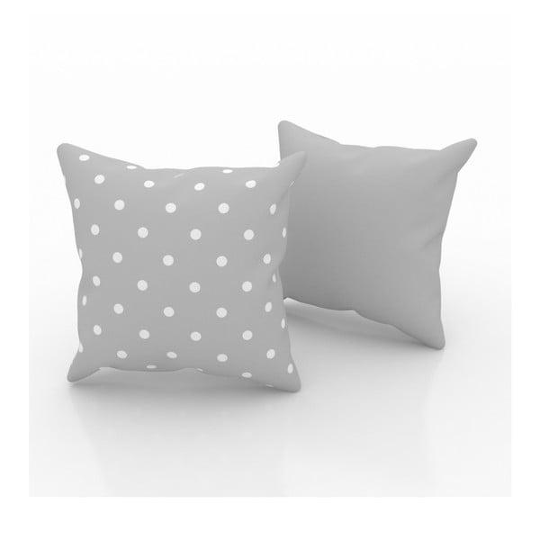 Sada 2 polštářů Small Dots, 43x43 cm