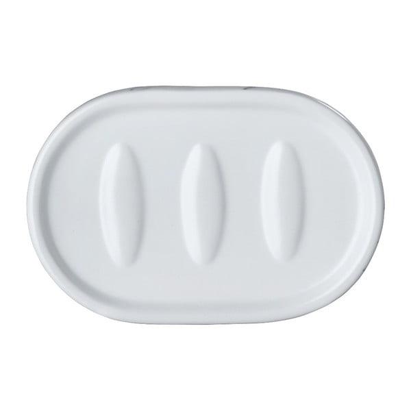 Biała ceramiczna mydelniczka Wenko Adrada