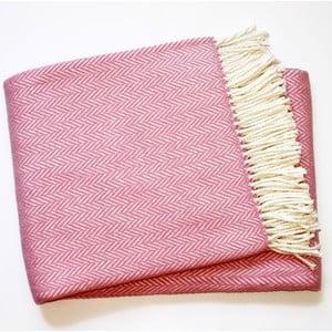 Deka Skyline Mauve Pink, 140x180 cm