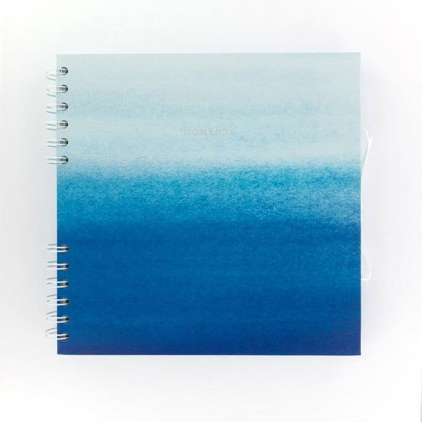 Modrý zápisník vzpomínek GO Stationery Moments