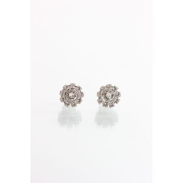 Náušnice s krystaly Swarovski® Yasmine Crystal Sun