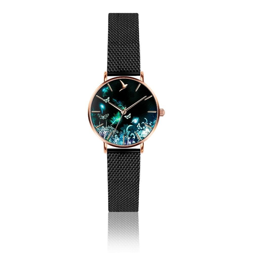 Dámské hodinky s páskem z nerezové oceli v černé barvě Emily Westwood Dream 4a1fed97c4