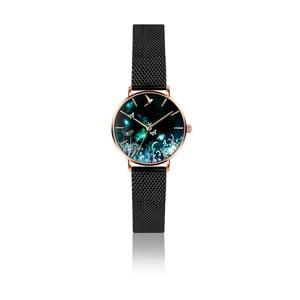 Dámské hodinky s páskem z nerezové oceli v černé barvě Emily Westwood Dream