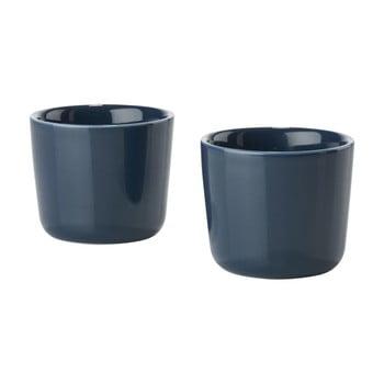 Set 2 căni termice din ceramică Zone Singles, albastru închis de la Zone