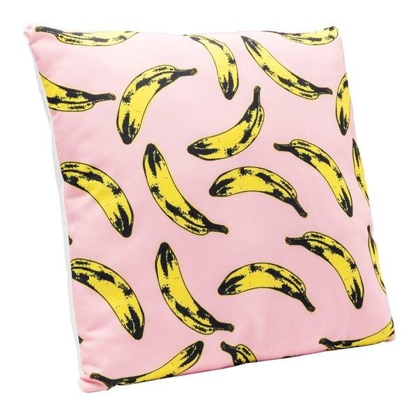 Vankúš s motívom banánov Kare Design Pop Art, 45×45 cm