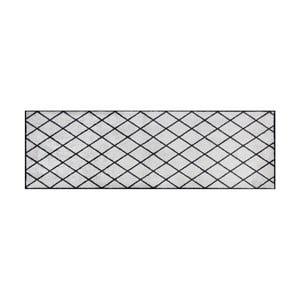 Šedočerný běhoun Hanse Home Magic Scale, 50x150cm