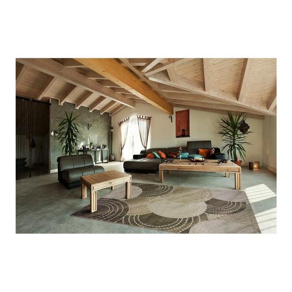 Šedý koberec Universal Belga, 70 x 110 cm