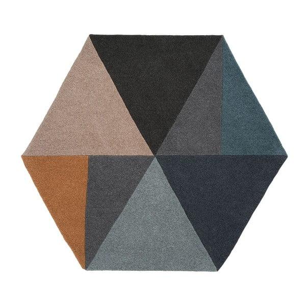 Vlněný koberec Sato Pastel, 150x130 cm