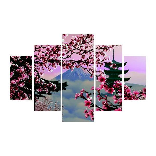 Tablou din mai multe piese Japan View, 92 x 56 cm