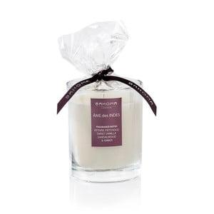Lumânare parfumată Bahoma White, Sufletul Indiei, ardere 55 de ore