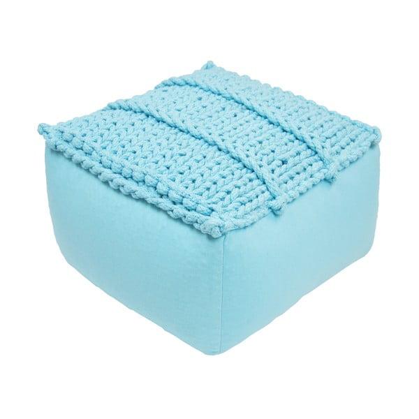 Dětský modrý sedací pufík Nattiot Neo