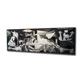 Reproducere tablou pe pânză Pablo Picasso Guernica, 80 x 30 cm