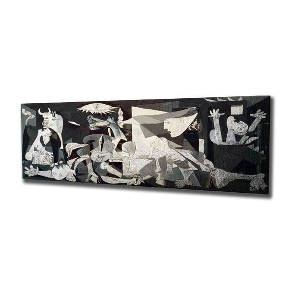 Vászon fali kép Pablo Picasso Guernica másolat, 80 x 30 cm