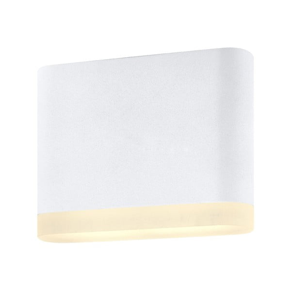 Biele nástenné svietidlo Markslöjd Uno