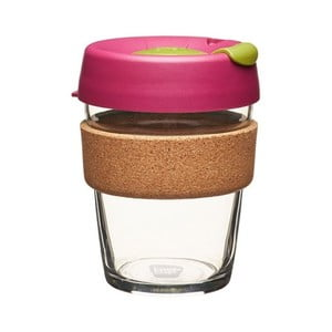 Cană de voiaj KeepCup Brew Cork Edition Cinnamon, 340 ml