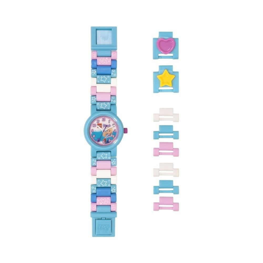 Světle modré hodinky LEGO® Friends Stephanie