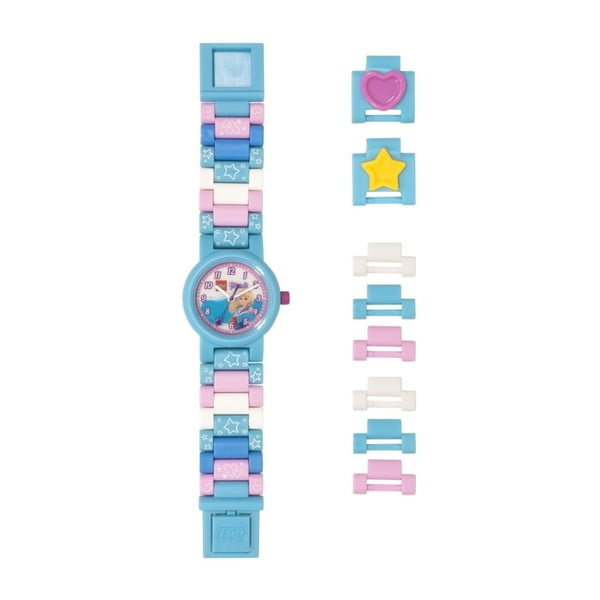 Svetlomodré hodinky LEGO® Friends Stephanie