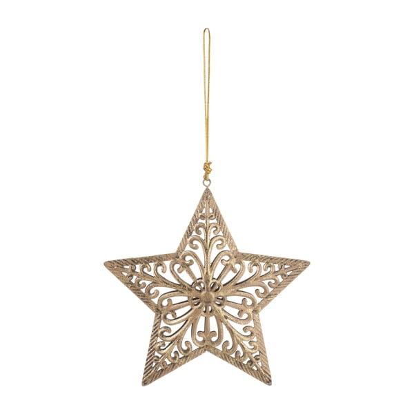 Závěsná dekorativní hvězda Antic, 15 cm