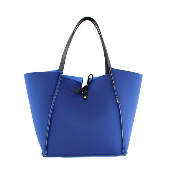 Neoprenová kabelka Fiertes, modrá