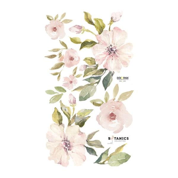 Komplet naklejek ściennych Dekornik Botanix Pastel Magnolia S