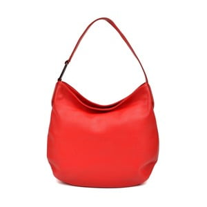 Červená kožená kabelka Isabella Rhea Gerrie
