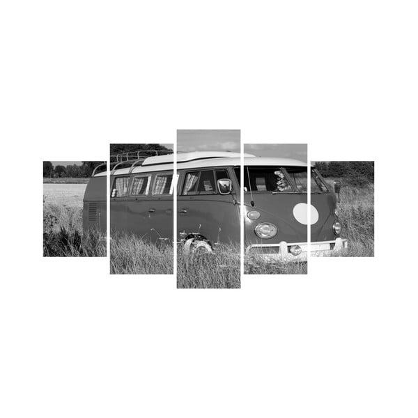 Vícedílný obraz Black&White no. 38, 100x50 cm