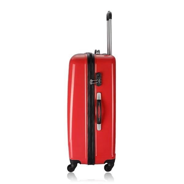 Cestovní kufr Weekend Red, 75 l