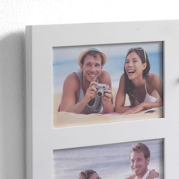 Nástěnný magnetizovaný panel s fotorámečky na 2 fotografie Tomasucci Reminder, 27x39,5x7cm