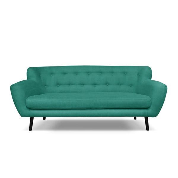 Canapea cu 3 locuri Cosmopolitan desing Hampstead, verde închis