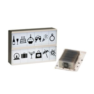 Světelný box s 90 znaky Fisura Symbols