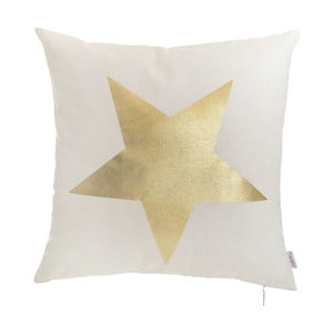 Povlak na polštář Apolena Gold Star, 45x45cm