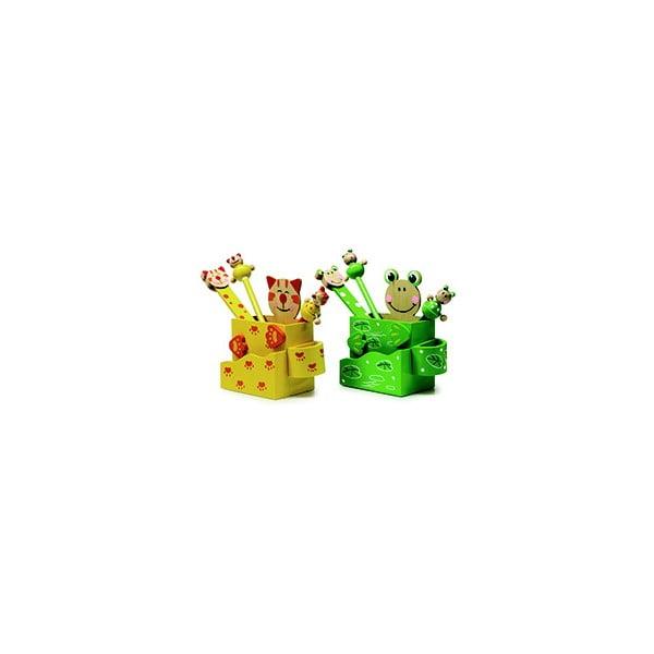 Cat & Frog 2 db-os íróeszköz tartó szett - Legler