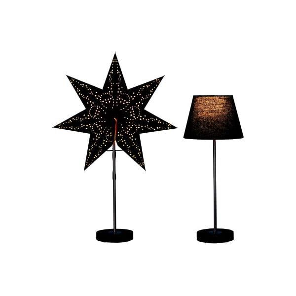 Set svítící lampy a hvězdy Best Season Black