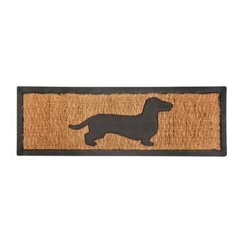 Covoraș intrare din fibre de cocos Esschert Design Dog, 25 x 75 cm imagine