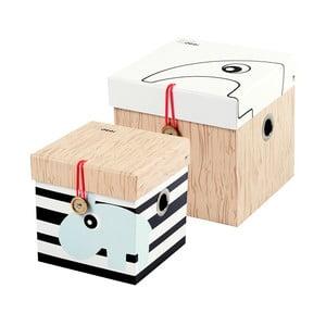 Sada 2 krabic Deer, vel S
