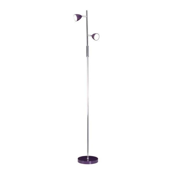Stojací lampa Andrew Purple