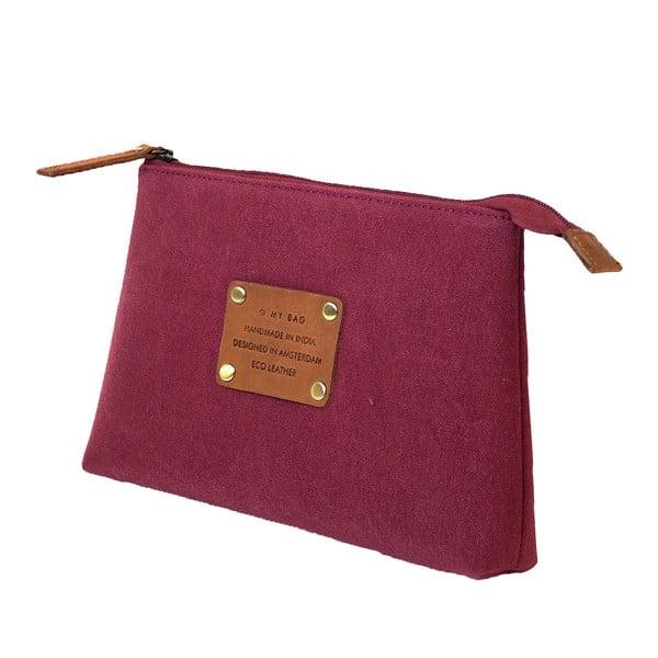 Toaletní taštička O My Bag Trippy, burgundy