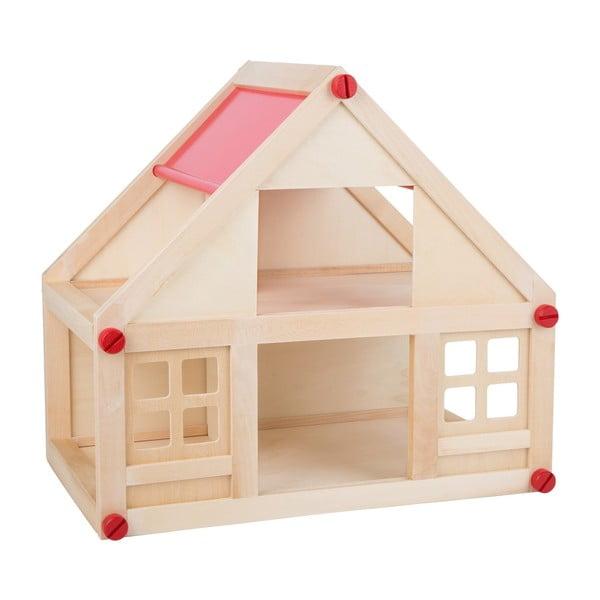 Dřevěný skládací domeček pro panenky Legler Building