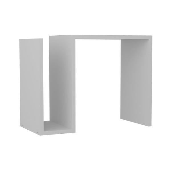 Biały stolik Yosun, 61,3x46,8 cm