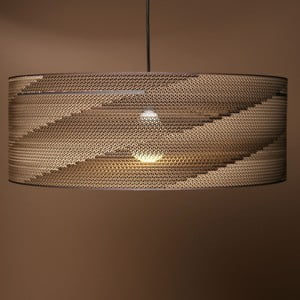 Kartonové stínítko Cylinder, 60 cm