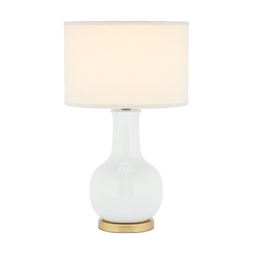 Stolní lampa s bílou základnou Safavieh Charlie