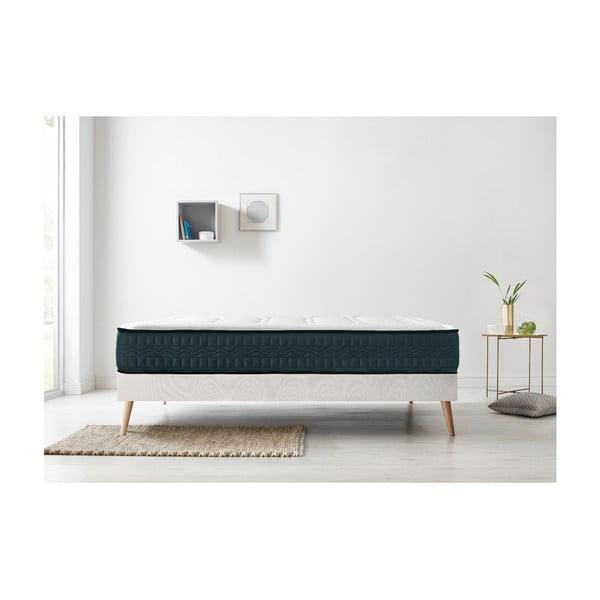 Tendresse fehér matrac zöld szegéllyel, 90 x 200 cm - Bobochic Paris