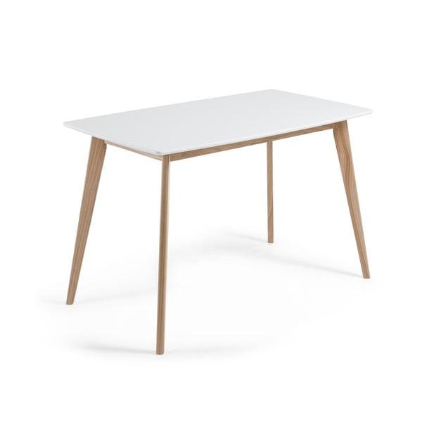 Jídelní stůl z jasanového dřeva La Forma Unit, 80x140cm